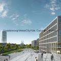 Visualisierung MesseCity Köln, Copyright: HH-Vision